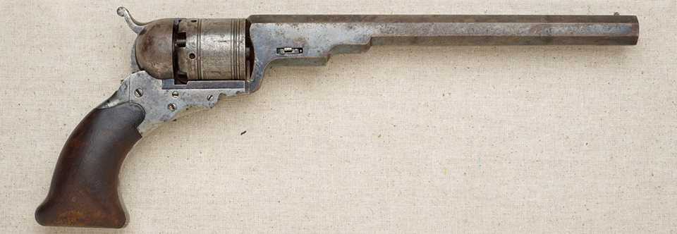 "Colt Paterson Revolver, Called the ""Texas Colt"""